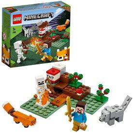 LEGO レゴ マインクラフト タイガの冒険 21162おもちゃ こども 子供 レゴ ブロック 7歳