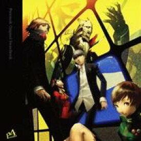 (ゲーム・ミュージック)/「ペルソナ4」オリジナル・サウンドトラック 【CD】