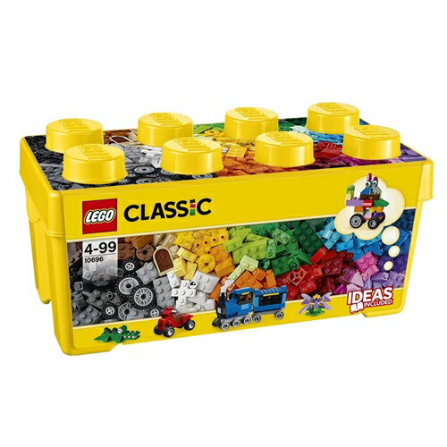 LEGO 10696 クラシック・黄色のアイデアボックス<プラス> おもちゃ こども 子供 レゴ ブロック 4歳