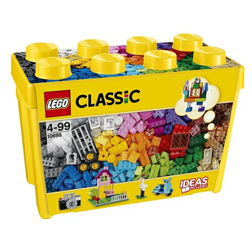LEGO 10698 クラシック・黄色のアイデアボックス<スペシャル> おもちゃ こども 子供 レゴ ブロック 4歳