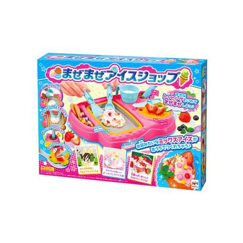 まぜまぜアイスショップ おもちゃ こども 子供 女の子 ままごと ごっこ 作る 6歳