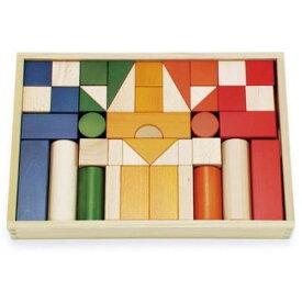 BZID001 オリジナル積み木カラーおもちゃ こども 子供 知育 勉強 1歳