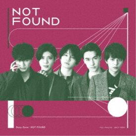Sexy Zone/NOT FOUND《限定盤A》 (初回限定) 【CD+DVD】