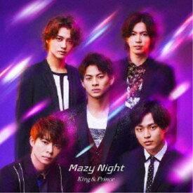 King & Prince/Mazy Night《通常盤》 【CD】