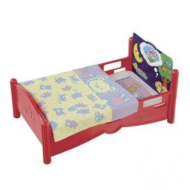 ぽぽちゃん 今日はどんな夢かな・・・ ぽぽちゃんベッド おもちゃ こども 子供 女の子 人形遊び 家具 3歳