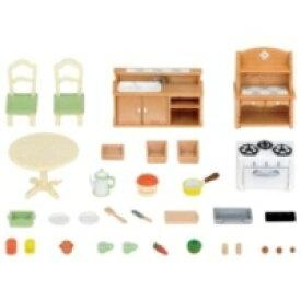 シルバニアファミリー セ-150 おしゃれなダイニングルーム おもちゃ こども 子供 女の子 人形遊び 家具 3歳