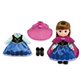 ずっとぎゅっと レミン&ソラン アナ ドレスセット おもちゃ こども 子供 女の子 人形遊び 洋服 3歳 アナと雪の女王