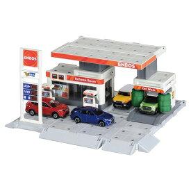 トミカタウン ビルドシティ ガソリンスタンド(ENEOS) おもちゃ こども 子供 男の子 ミニカー 車 くるま 3歳