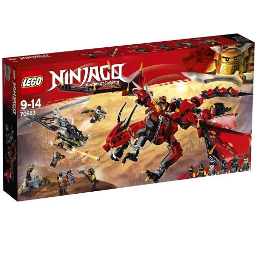【送料無料】LEGO 70653 ニンジャゴー 伝説のエレメント・ドラゴン:メリュジーナ