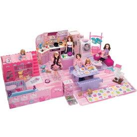 【送料無料】リカちゃん チャイムでピンポーン ひろびろゆったりさん おもちゃ こども 子供 女の子 人形遊び ハウス 3歳