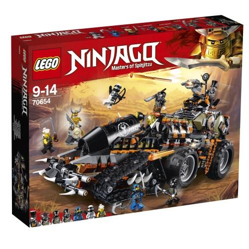 【送料無料】LEGO 70654 ニンジャゴー ハンティング・デスストライカー