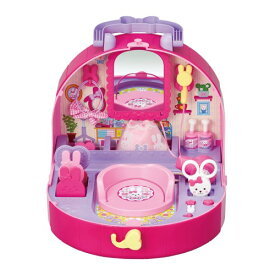 メルちゃん おしゃべりいっぱい うさぎさんびようしつおもちゃ こども 子供 女の子 人形遊び 小物 3歳