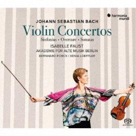 イザベル・ファウスト/J.S.バッハ:ヴァイオリン協奏曲、シンフォニア、序曲とソナタ集《SACD ※専用プレーヤーが必要です》 (初回限定) 【CD】
