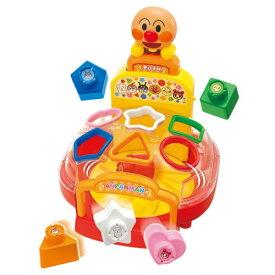 アンパンマン アンパンマンの形どれかな?おしゃべりぐるぐるパズルおもちゃ こども 子供 知育 勉強 2歳
