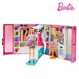 バービー ドリームクローゼット GBK10おもちゃ こども 子供 女の子 人形遊び 家具 3歳