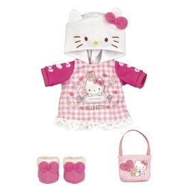 メルちゃん きせかえセット ハローキティ ピンクパーカーおもちゃ こども 子供 女の子 人形遊び 洋服 3歳