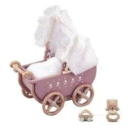 シルバニアファミリー カ-205 うば車セット おもちゃ こども 子供 女の子 人形遊び 家具 4歳
