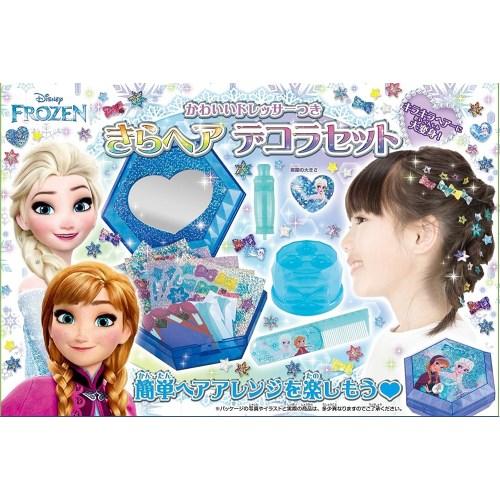 【送料無料】きらヘア デコラセット アナと雪の女王 おもちゃ こども 子供 女の子 ままごと ごっこ 作る