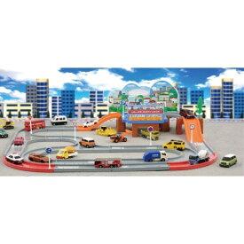 トミカワールド タウンどうろセット おもちゃ こども 子供 男の子 ミニカー 車 くるま 3歳