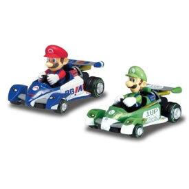 マリオカート プルバックマリオ&ルイージおもちゃ こども 子供 ラジコン