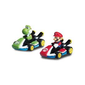マリオカート8 プルバックマリオ&ヨッシーおもちゃ こども 子供 ラジコン