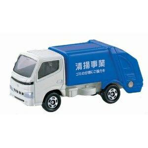 トミカ 045 トヨタ ダイナ 清掃車(ブリスター)