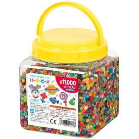 パーラービーズ 80-17559 筒入り11000P マルチカラーおもちゃ こども 子供 女の子 ままごと ごっこ 作る 5歳