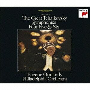 ユージン・オーマンディ/フィラデルフィア管弦楽団/チャイコフスキー:後期三大交響曲 【CD】
