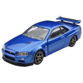 トミカプレミアムRS 日産 スカイライン GT-R V・specII Nur (ベイサイドブルー) おもちゃ こども 子供 男の子 ミニカー 車 くるま