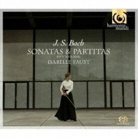 イザベル・ファウスト/J.S.バッハ:無伴奏ヴァイオリン・ソナタとパルティータBWV 1001-1006(全曲) (初回限定) 【CD】
