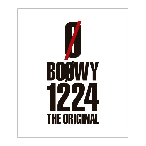 BOOWY/1224 -THE ORIGINAL- 【Blu-ray】
