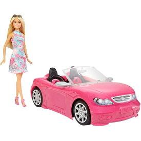 バービーとおでかけ!かわいいピンクのクルマ おもちゃ こども 子供 女の子 人形遊び 小物 3歳
