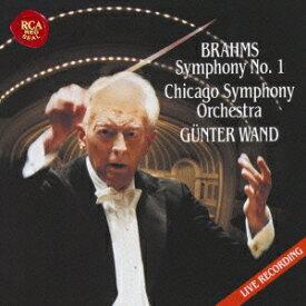 ヴァント シカゴ響/ブラームス:交響曲第1番 シューベルト:交響曲第8番「未完成」 【CD】