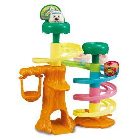 【送料無料】ワンワンとうーたん 森のコロコロワンワンカー おもちゃ こども 子供 知育 勉強 1歳6ヶ月 いないいないばあっ!