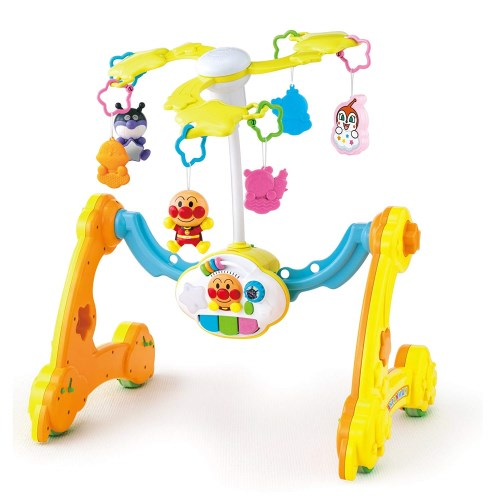 【送料無料】アンパンマン 8WAY ウォーカーまでへんしん!よくばりメリー おもちゃ こども 子供 知育 勉強 ベビー 0歳