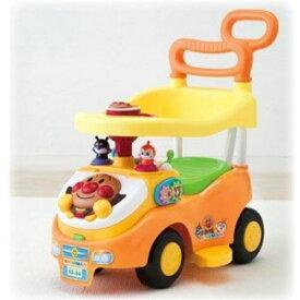 ラッピング対応可◆アンパンマン よくばりビジーカー 押し棒+ガード付き クリスマスプレゼント おもちゃ こども 子供 知育 勉強 0歳10ヶ月