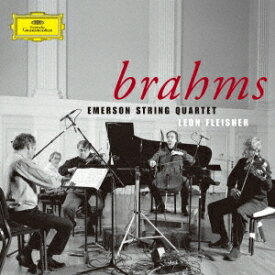 エマーソンSQ フライシャー/ブラームス:弦楽四重奏曲全集 ピアノ五重奏曲 【CD】