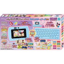 【送料無料】ディズニー&ディズニー/ピクサーキャラクターズ マジカル・ミー・パッド&専用ソフト マジカルキーボードセット おもちゃ こども 子供 ゲーム 6歳 ミッキーマウス