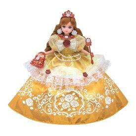 リカちゃん ゆめみるお姫さま エレガントローズドレスおもちゃ こども 子供 女の子 人形遊び 洋服 3歳