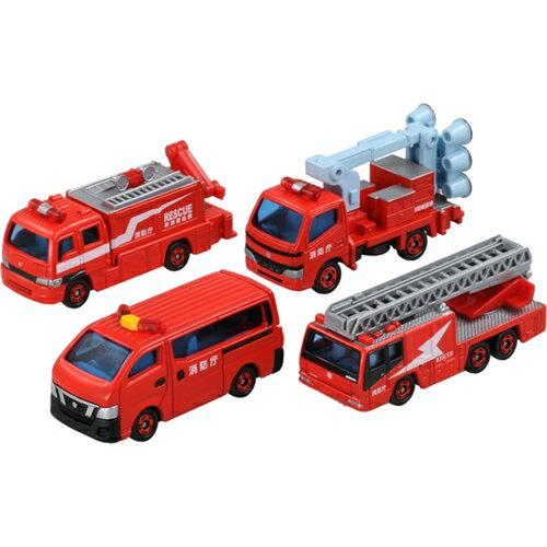 トミカギフト 消防車両セット おもちゃ こども 子供 男の子 ミニカー 車 くるま 3歳