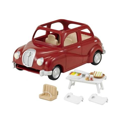 シルバニアファミリー V-01 おでかけファミリーカー おもちゃ こども 子供 女の子 人形遊び 家具 3歳