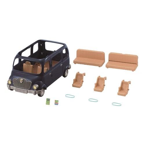シルバニアファミリー V-02 みんなでドライブ ファミリーワゴン おもちゃ こども 子供 女の子 人形遊び 家具 3歳