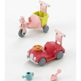 シルバニアファミリー カ-216 三輪車・くるまセット おもちゃ こども 子供 女の子 人形遊び 家具 3歳