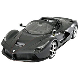 RASTAR 1/14 ラ フェラーリ アペルタ ブラック (手動開閉ドア&ドリフト)TX002BKおもちゃ こども 子供 ラジコン 6歳