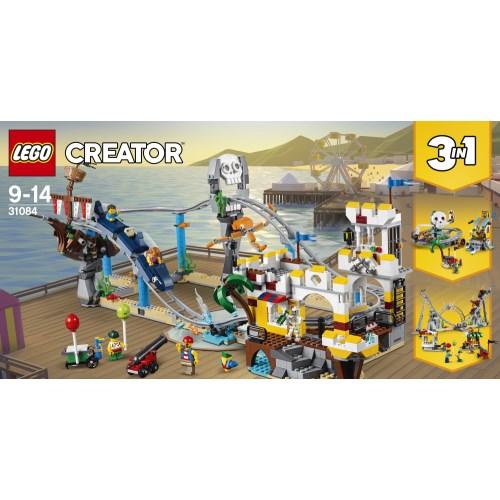 【送料無料】LEGO 31084 クリエイター ローラーコースター