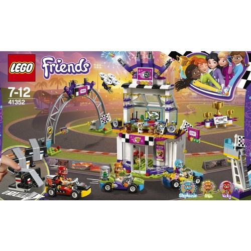 【送料無料】LEGO 41352 フレンズ ハートレイクグランプリ おもちゃ こども 子供 レゴ ブロック 7歳