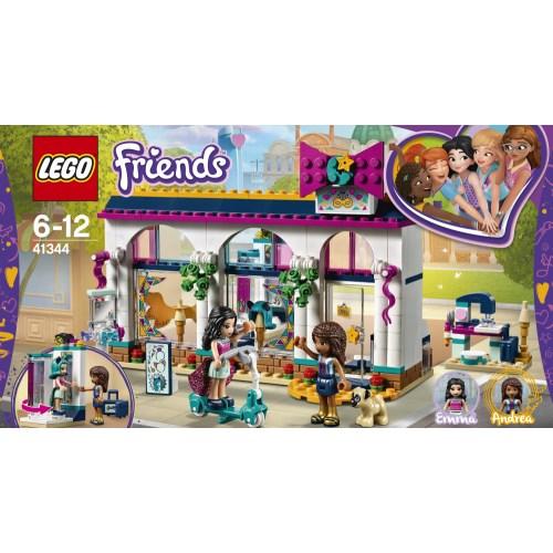 【送料無料】LEGO 41344 フレンズ アンドレアのオシャレショップ