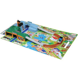 プラレール トーマスシリーズ きかんしゃトーマス おでかけ立体マップ おもちゃ こども 子供 男の子 電車 3歳