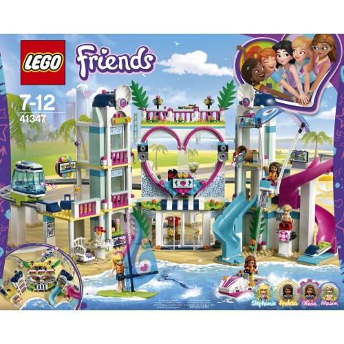 【送料無料】LEGO 41347 フレンズ ハートレイクシティ リゾート