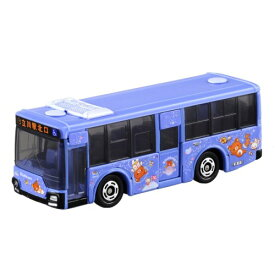 トミカ 8 三菱ふそう エアロスター 立川バス×リラックマ (箱) おもちゃ こども 子供 男の子 ミニカー 車 くるま 3歳